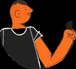 Imagem representa uma pessoa segurando um cartão da categoria Diamante