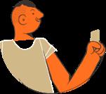 Imagem representa uma pessoa segurando um cartão da categoria Ouro