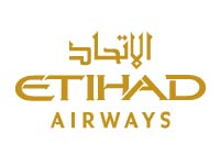 Logo Companhia Aérea Etihad Airways