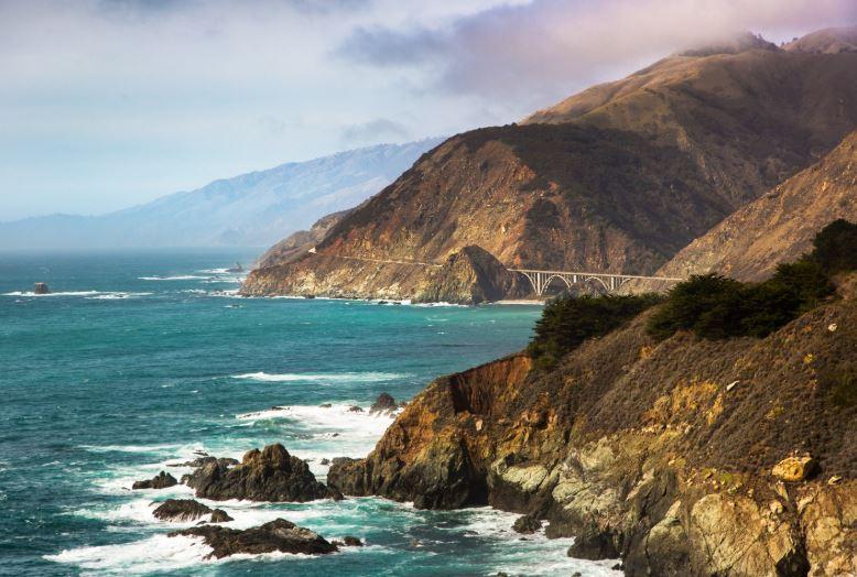 Big Sur na Califórnia - Estados Unidos