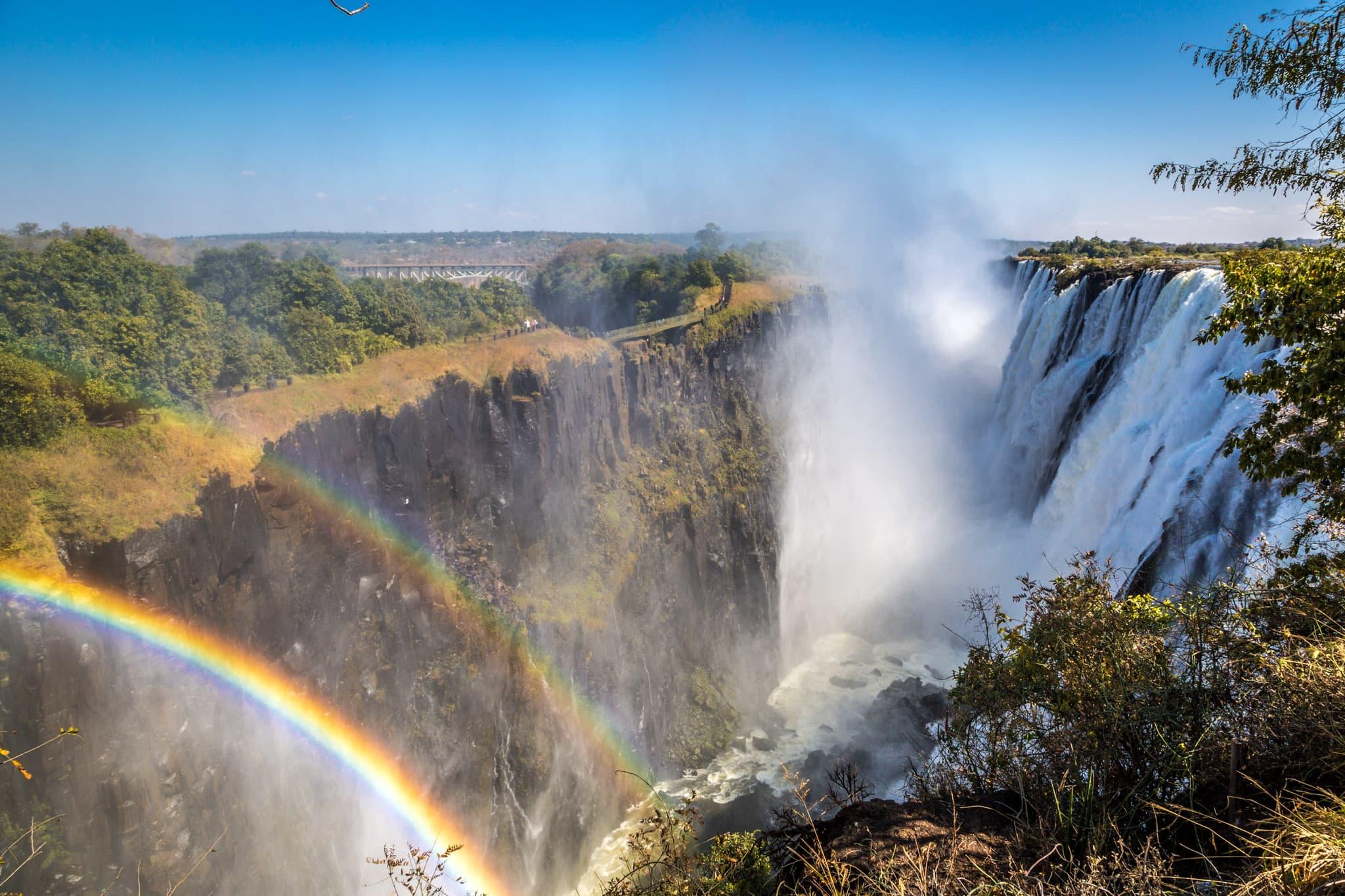 Zâmbia - Cataratas